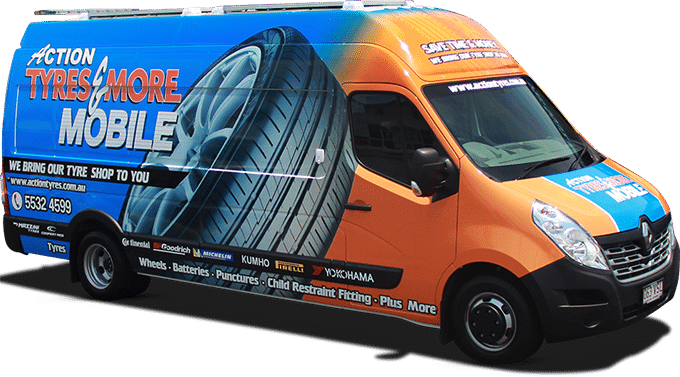 Action Tyres Mobile Van