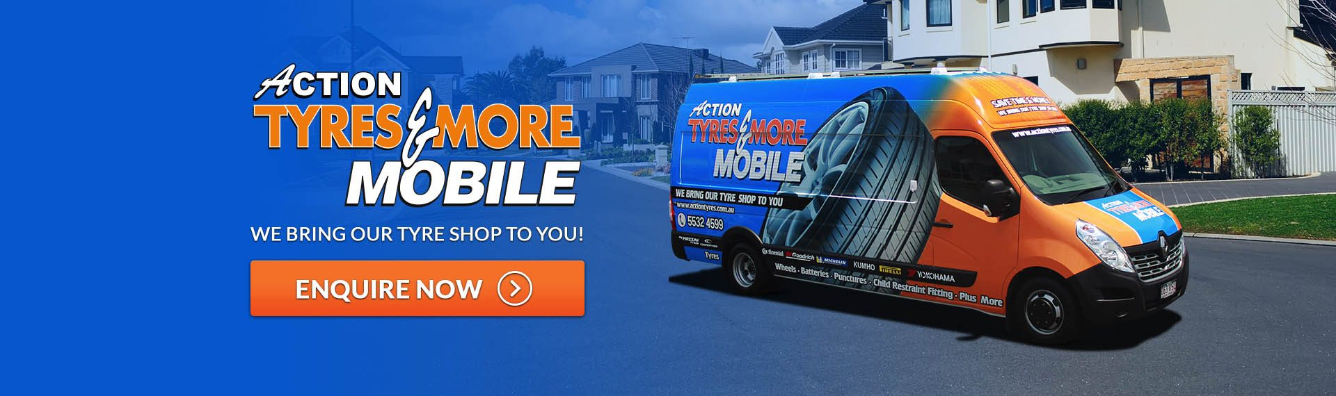 Action Tyres & More Mobile - We Bring Our Tyre Shop to you!