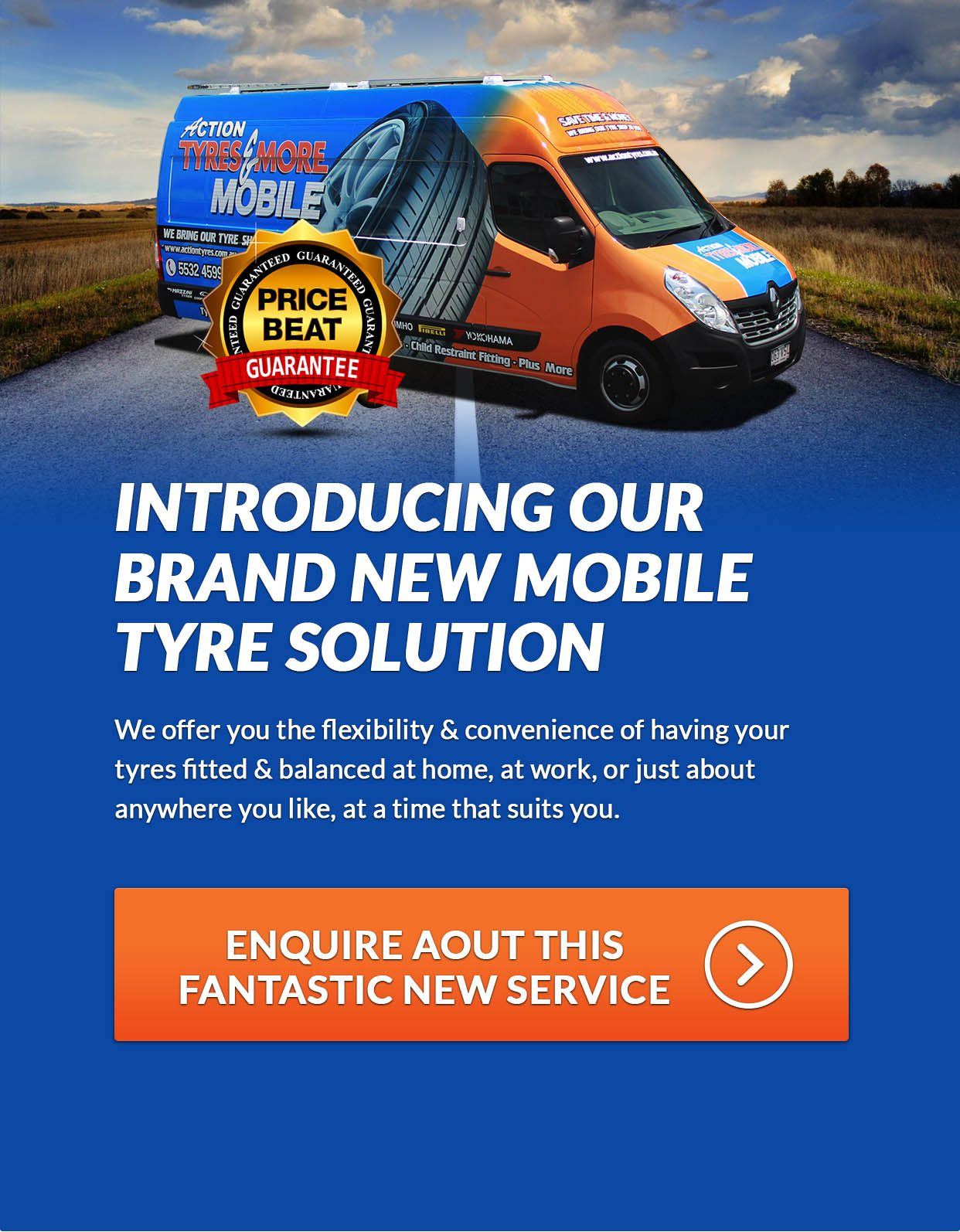 Action Tyres & More Mobile - Introducing Our Brand New Mobile Tyre Solution
