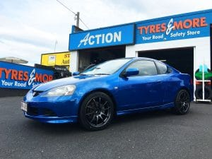 Action Tyres - Honda Integra Advan
